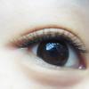 """[术后99天] 听说""""迷人""""就是眼睛里有刺啊,我想那些刺是不是睫毛啊!哈哈哈,女生眼睛放电怎么能少了睫毛呢!"""