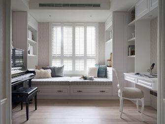 130平米三室两厅美式风格书房图片大全