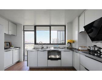 100平米三室两厅现代简约风格厨房装修案例