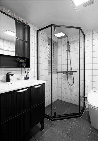 5-10万90平米三室一厅现代简约风格卫生间欣赏图