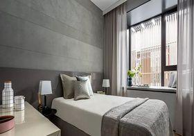 80平米三室兩廳現代簡約風格臥室圖片