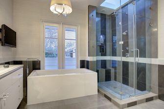 140平米别墅地中海风格卫生间装修图片大全