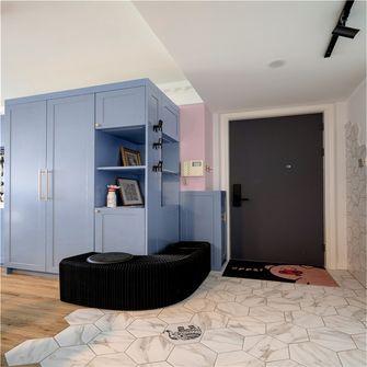 90平米三室一厅英伦风格玄关图