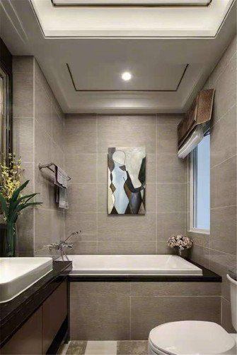 120平米四室两厅宜家风格卫生间装修案例