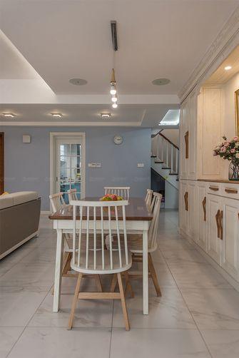 140平米复式北欧风格餐厅图片大全