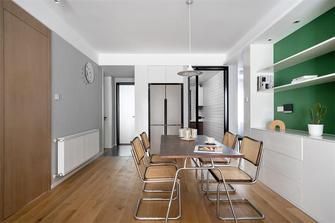 120平米三室两厅宜家风格餐厅装修案例