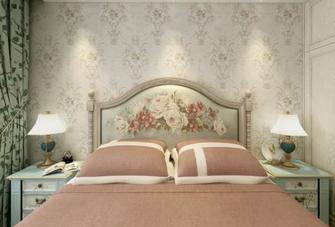 120平米三地中海风格卧室装修图片大全