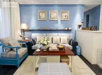 100平米三室两厅地中海风格客厅照片墙图片