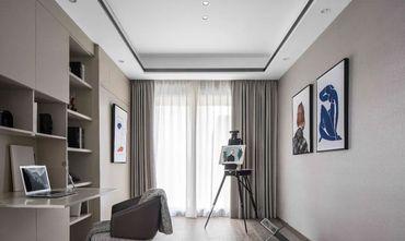 120平米三室两厅中式风格书房欣赏图
