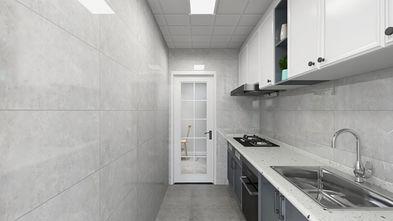 110平米田园风格厨房设计图