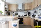130平米三室一厅北欧风格厨房效果图