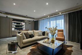 120平米三室兩廳現代簡約風格客廳裝修案例