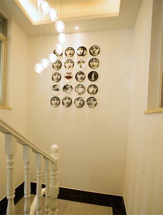 经济型100平米三室一厅现代简约风格楼梯欣赏图