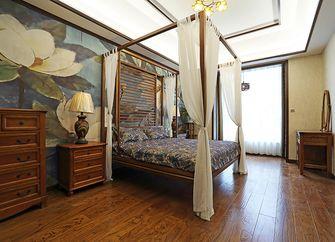 130平米三室两厅东南亚风格卧室装修案例