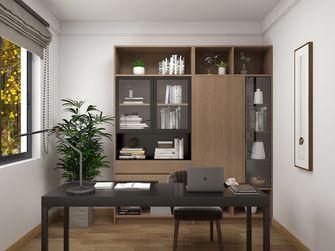 130平米三室两厅日式风格书房设计图