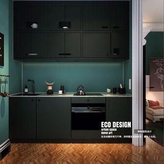 60平米公寓法式风格厨房图片