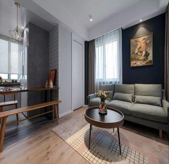 50平米一居室混搭风格客厅图片