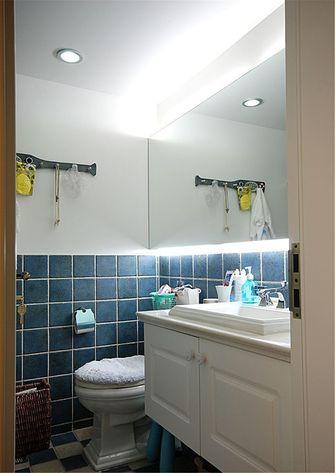 80平米一室一厅地中海风格卫生间装修案例
