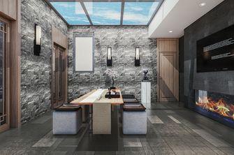 140平米三室两厅中式风格阳光房装修图片大全