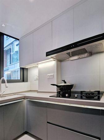 80平米三现代简约风格厨房设计图
