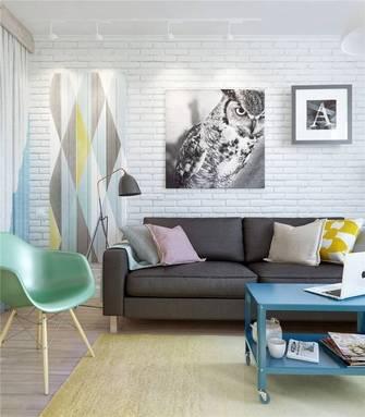 一室户北欧风格效果图