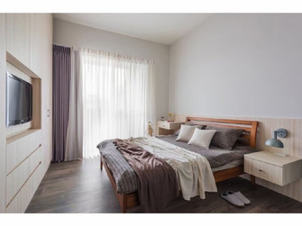 130平米四室一厅宜家风格卧室装修效果图
