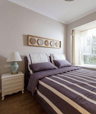 90平米中式风格卧室设计图