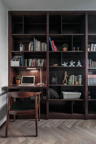 120平米三室两厅现代简约风格书房图