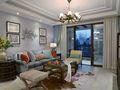 140平米四室三厅地中海风格客厅图片