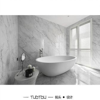 豪华型140平米别墅现代简约风格卫生间效果图