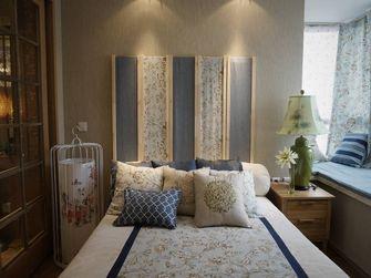 110平米三室一厅东南亚风格卧室设计图