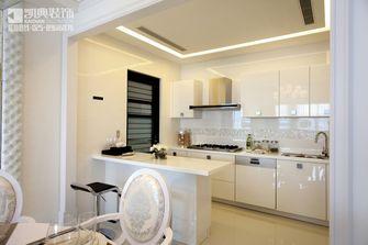 110平米三室两厅现代简约风格厨房橱柜装修图片大全