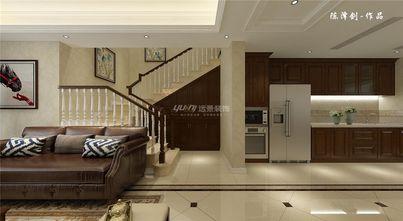 20万以上140平米四室两厅美式风格楼梯设计图