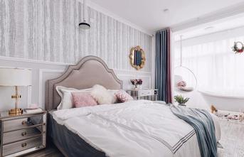 90平米三室一厅美式风格卧室设计图