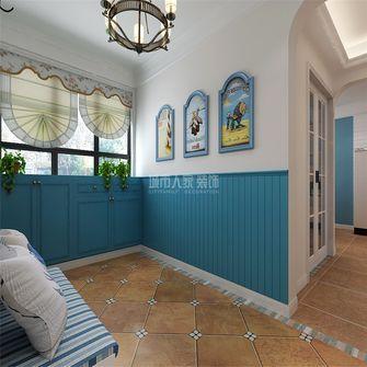 140平米三室两厅地中海风格玄关图片