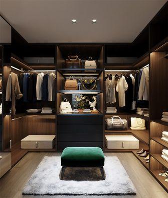 110平米三室两厅现代简约风格衣帽间装修案例