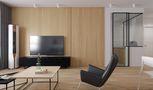 70平米一室一厅宜家风格客厅装修效果图