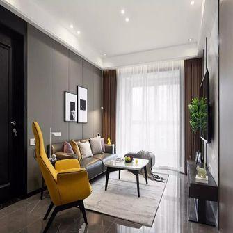 130平米三现代简约风格客厅图片
