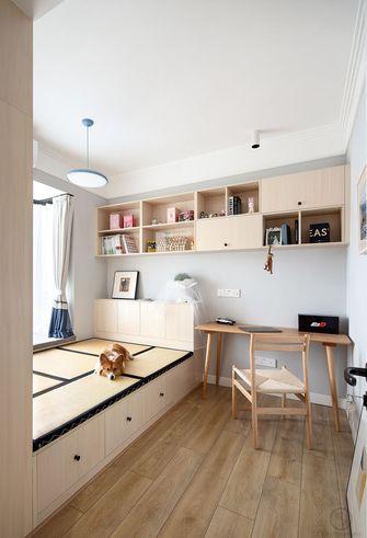 80平米三室一厅混搭风格书房装修效果图