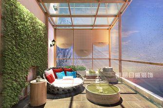 140平米别墅现代简约风格阳台设计图