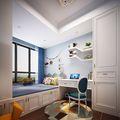 120平米四室两厅地中海风格儿童房图片