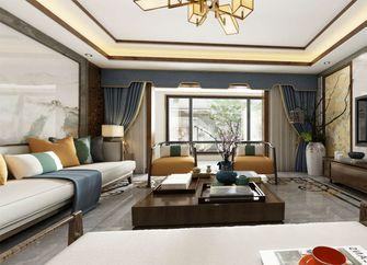 110平米一室一厅中式风格客厅装修效果图