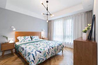 100平米三室两厅北欧风格卧室设计图