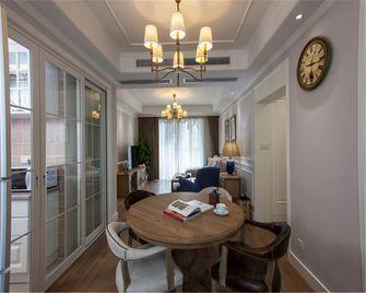 110平米三室一厅现代简约风格餐厅装修图片大全