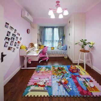 120平米三田园风格儿童房设计图
