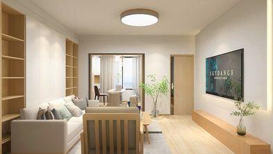 80平米日式风格客厅装修案例