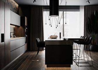 90平米英伦风格厨房欣赏图