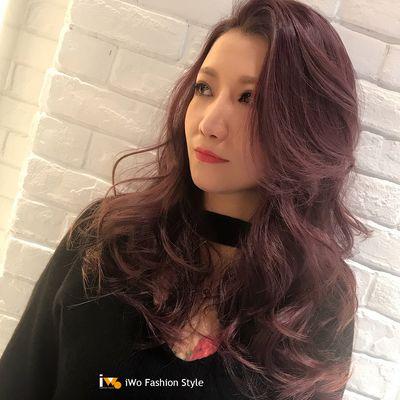 香榭波浪紫效果图