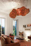 40平米小户型美式风格客厅装修效果图