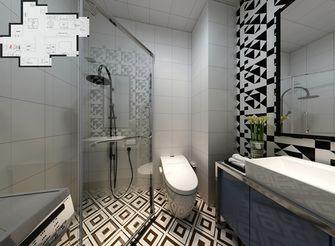 80平米一室一厅新古典风格卫生间设计图